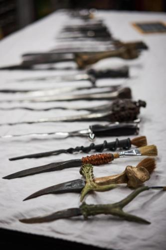 Jedes Messer ist einmalig